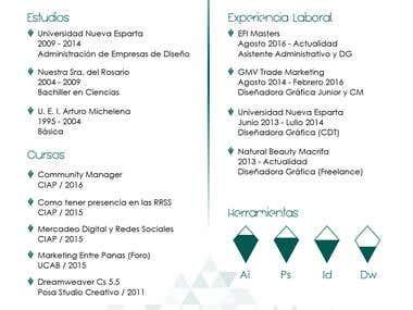 Curriculum Nathalia Alanis