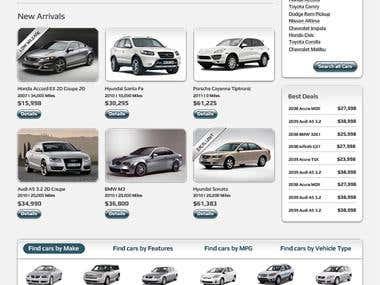 Auto Dealer Project