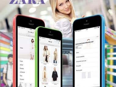 ZARA(Shopping App)