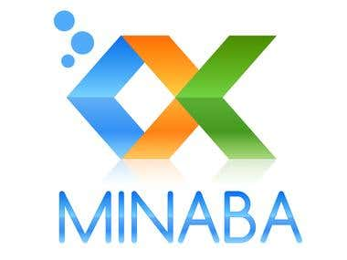 Logo design for Minaba