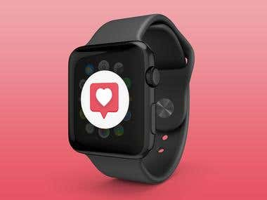 Apple Watch Instagram icon redesign