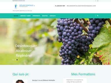 Site Ecommerce Naturothérapeute