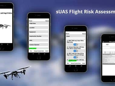 Flight Risk Management App
