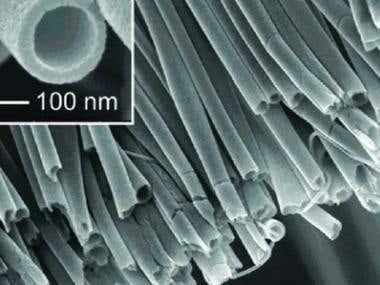 Short Review on Polymeric Nano-spun Fibres