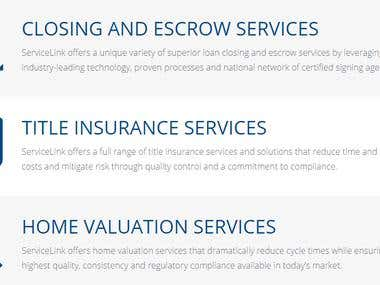 Web Browser and Mobile App Test and QA of Mortgage Product