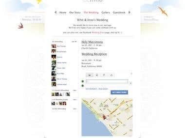 Website - Wedding - Template