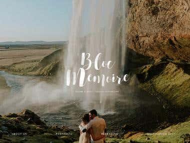 Wedding Photographer Website Development