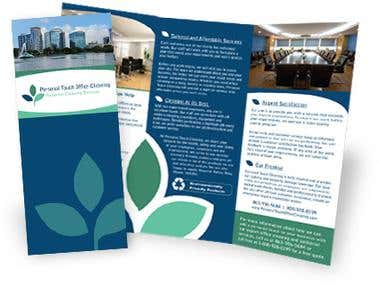 Brochure Layout and Logo Design