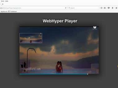 browser plugin player with Qt and C++ and Javascript