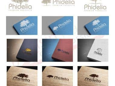 Logo designed for PHIDELIA