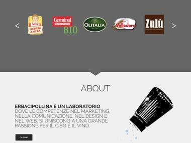 Food Products website