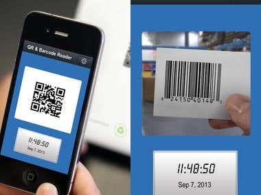 QR & Bar Code Scanner App