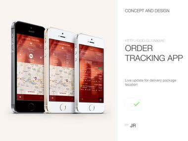 Order Tracking App