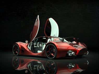 Custom Sportscar design