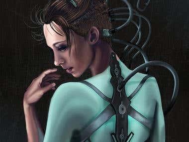 Digital art - book cover