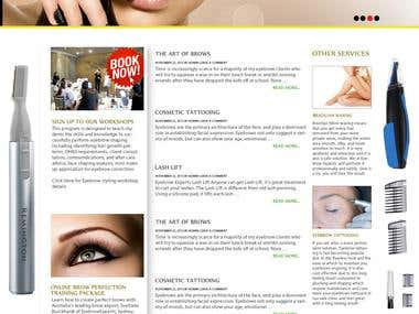 Its eyebrow website