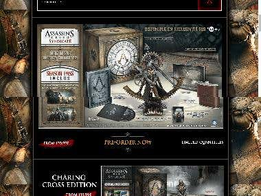 "Product Page for ""Assassin's Creed Syndicate"" Game"
