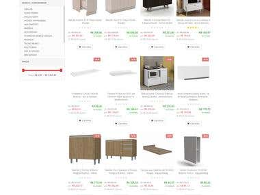 E-commerce - Furniture - Frontend - Brazil