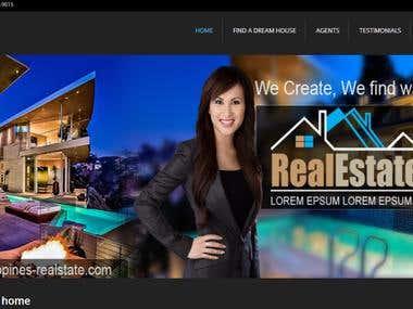 Realstate Wordpress Web Design and Development