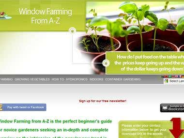 WindowFarmingEbook Website