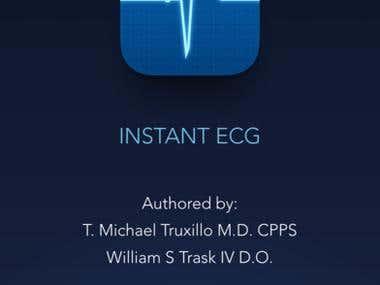 Instant ECG: An Electrocardiogram Rhythms Guide App