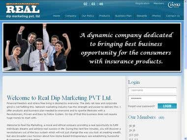 Real MLM Web site