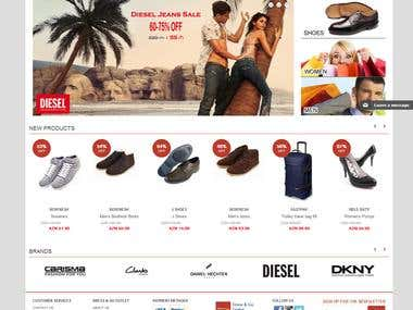 Magento Full website .. Dressandgo.az