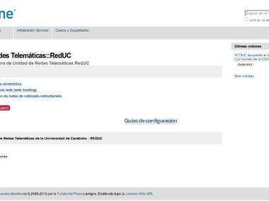 RedUC - Universidad de Carabobo Intranet
