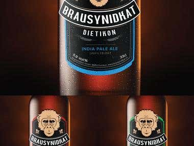 Brausyndikay Beer Bottle Label