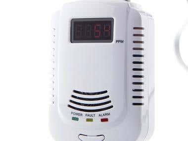 Gas Alarm Sensor