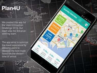 Route finder app