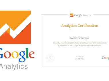 Google Analytics 2017 Certificate