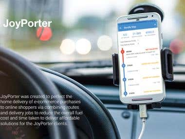 Joyporter - courier delivery services the modern way