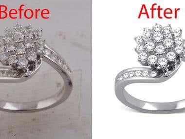 Jewelry photo Editing and design