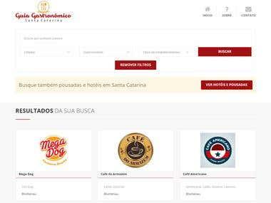 Portal Guia Gastronômico SC