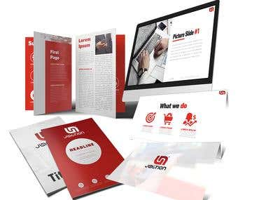 Powerpoint and brochure
