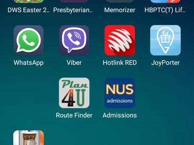 Valeo route finding app