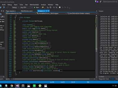 Real estate scraper - C# / HtmlAgilityPack / Excel