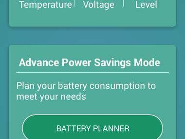 BATTERY SEVER ANDROID APP