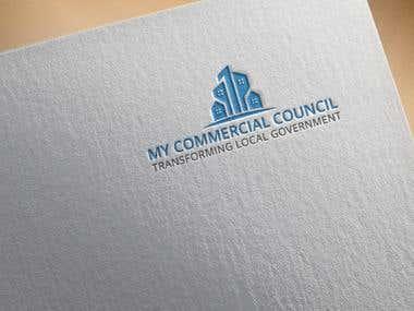 My Commercial Council logo design