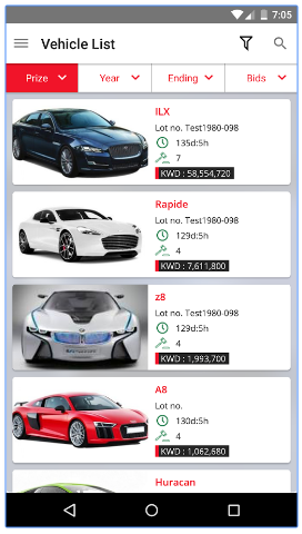 Car Auction App