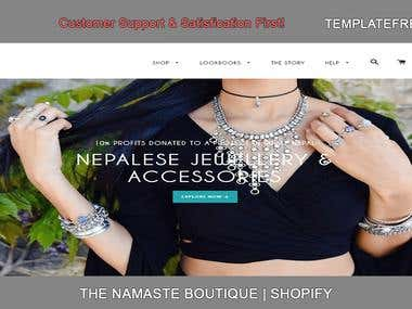 THE NAMASTE BOUTIQUE