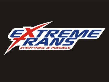 EXTREME TRANS - the shipping company's new logo