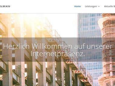 Web Design -  Building Company Website
