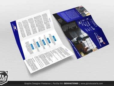 PJM Visual Arts' Brochure and Book Design