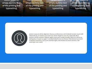 Web Template Concept 2