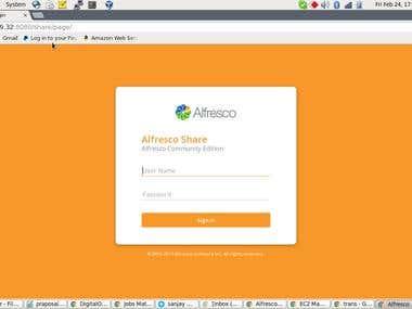 Alfresco 201702 Community on Centos 7