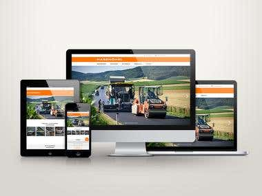 Hasenöhrl GmbH - Jupiter based WordPress Website