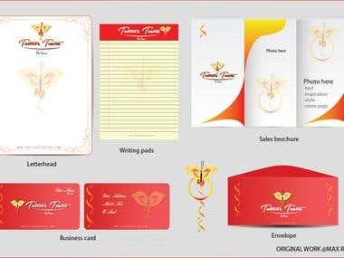 Company Material Design Combo