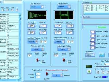 Function generator on Labview